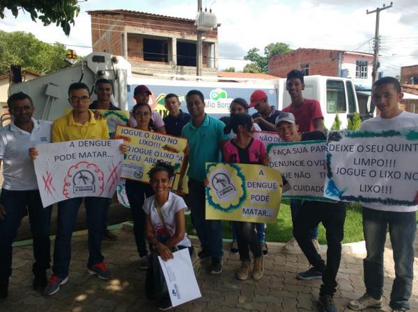 Dia D de combate à dengue em Júlio Borges