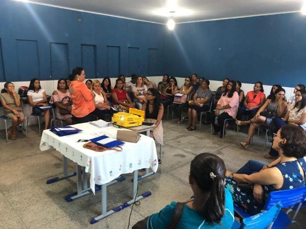 Secretaria promoveu encontro pedagógico em Monte Alegre do PI