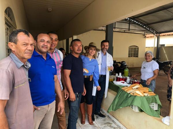 População de São Gonçalo do Gurguéia participam do Dia D' Saúde