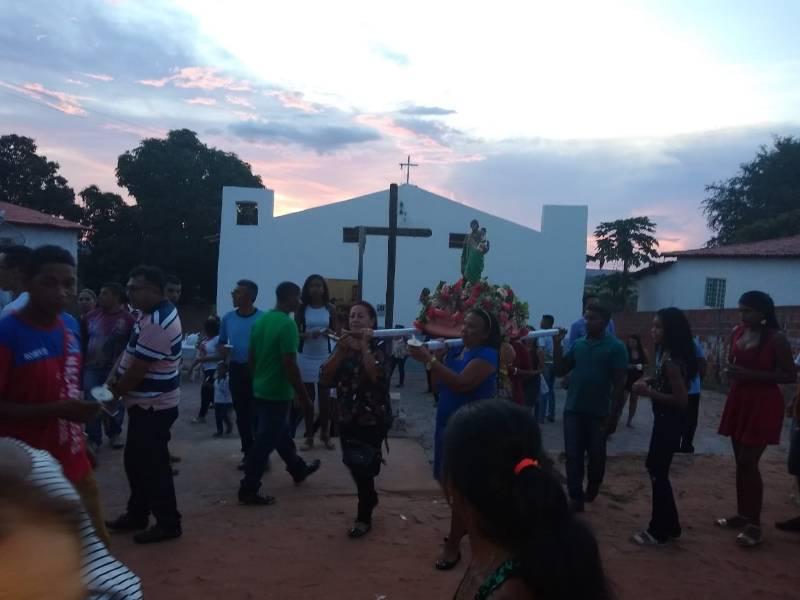 Encerramento do Festejo de São José em Gilbués-PI
