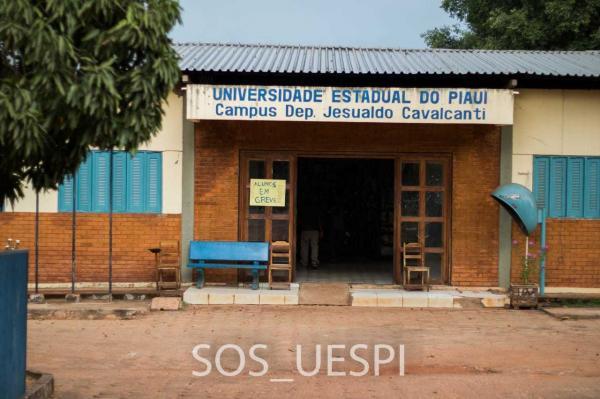 #SOSUESPI: alunos mostram estrutura precária do campus de Corrente