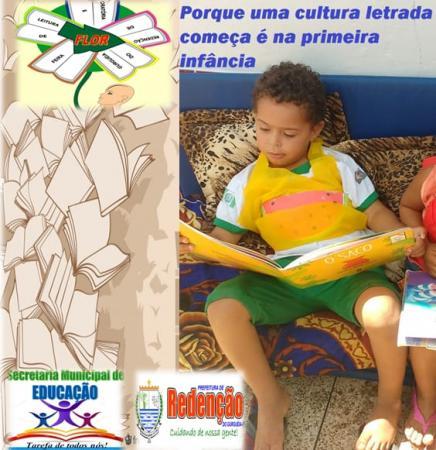 Redenção: 3ª edição do Projeto Flor- Feira de Leitura e Oratória nas escolas municipais