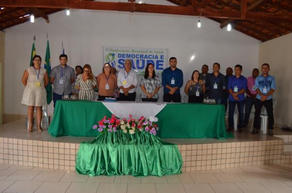 VI Conferência Municipal de Saúde é realizada em Santa Luz