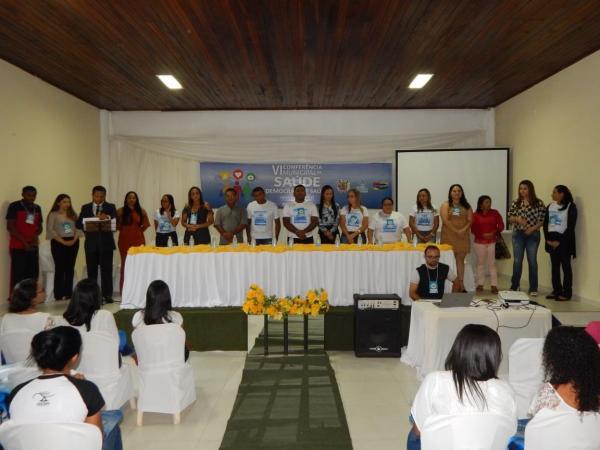 Veja como foi a VI Conferência Municipal de Saúde de Cristino Castro