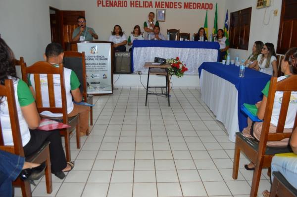 Currais realiza V Conferência Municipal de Saúde