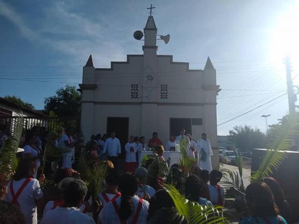 Semana Santa: Missa do domingo de Ramos em Gilbués