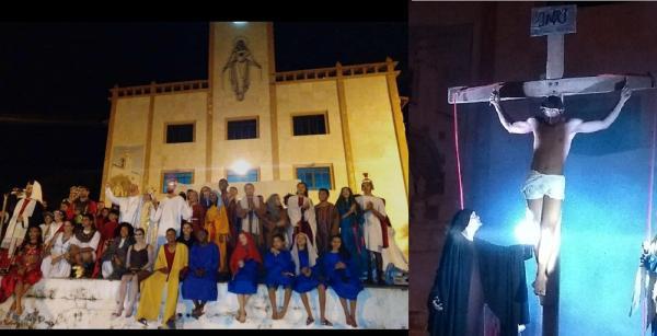 Diocese de Bom Jesus realiza encenação da Paixão de Cristo