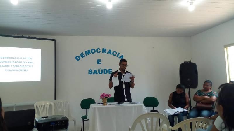 Plenária Municipal da Saúde é realizada em Redenção do Gurguéia