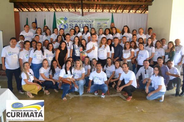 Democracia e Saúde: 8ª Conferência Municipal de Saúde de Curimatá-PI