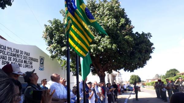 PM inaugura sede da 4ª Cia/7º BPM de Avelino Lopes