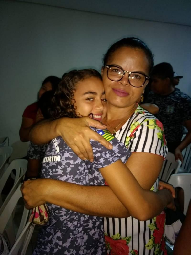Dia das Mães: Pelotão Mirim de Avelino Lopes realiza linda homenagem