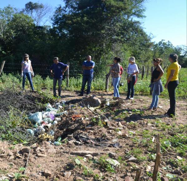 No combate ao Aedes Aegypti, Prefeitura de Curimatá realiza mutirão de limpeza
