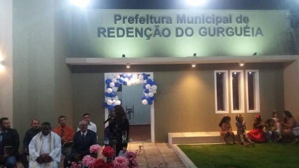 Dia de inaugurações na cidade de Redenção do Gurgueia