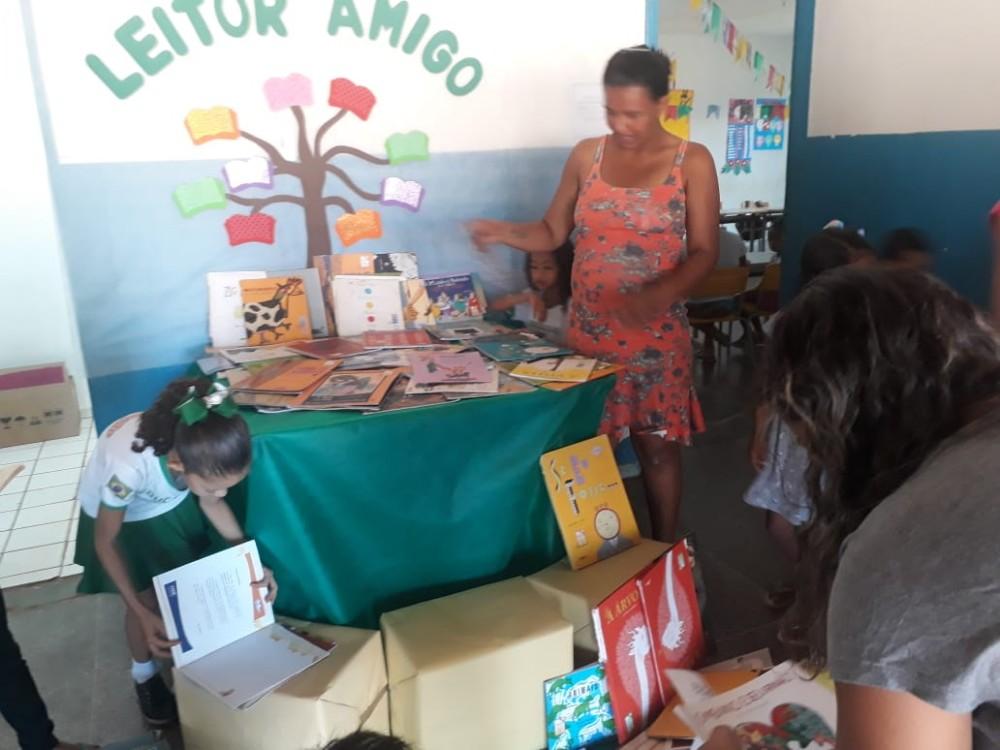 Projeto Amigo Leitor é desenvolvido nas escolas de Redenção do Gurgueia