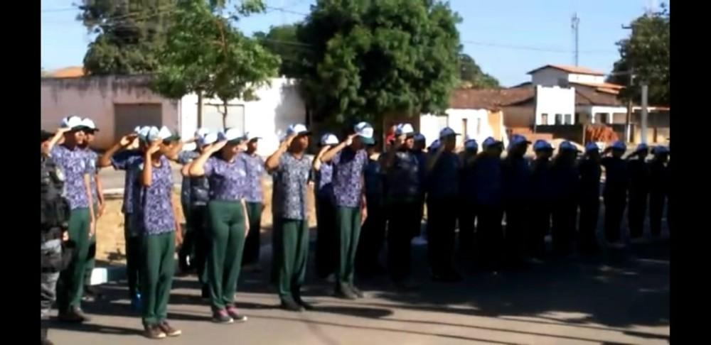 Avelino Lopes: Polícia Militar realiza Ato Cívico no Dia da Independência