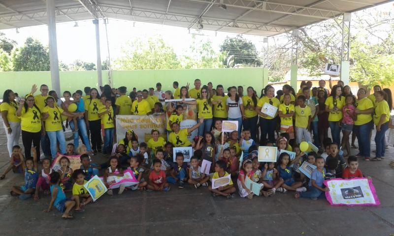 Caminhada do 'Setembro Amarelo' mobiliza a comunidade em Currais