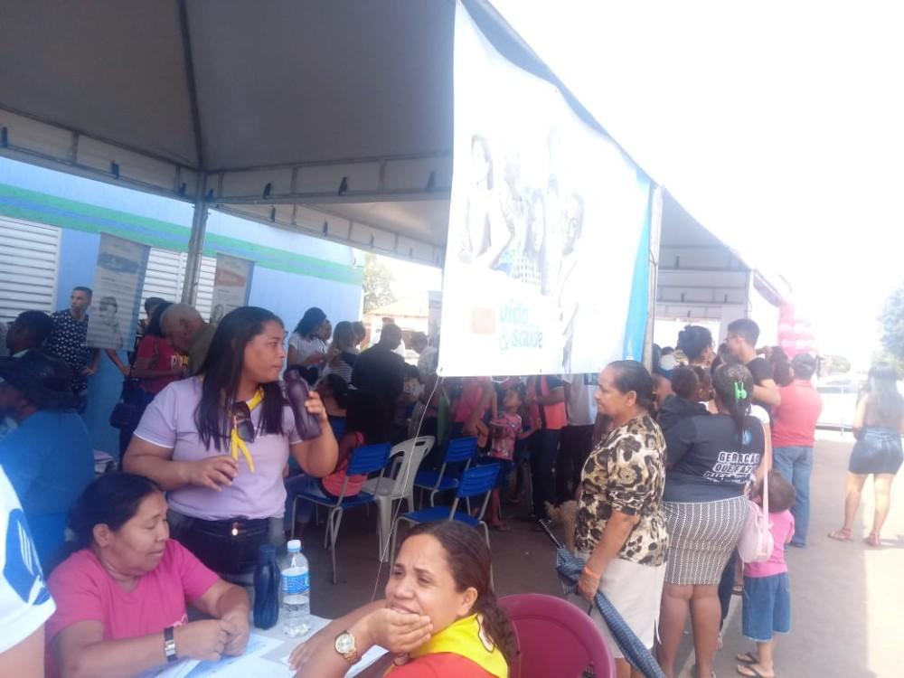 Prefeitura de Júlio Borges e Igreja Adventista realizam I Feira da Saúde