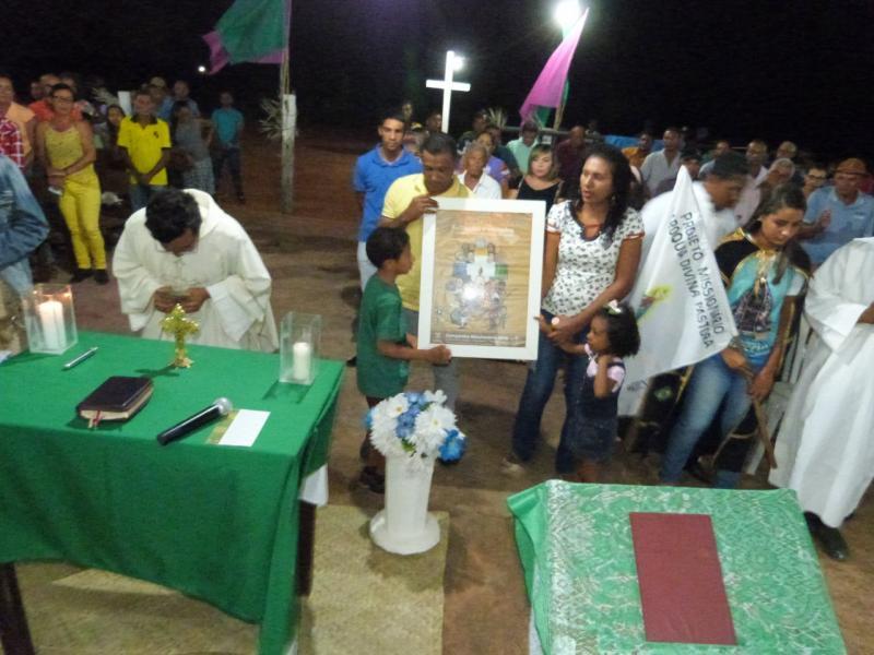 Nossa Senhora Aparecida é festejada na Vaqueta