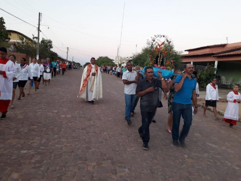 Festejos de N. Sr.ª Aparecida em Alvorada do Gurgueia; veja fotos