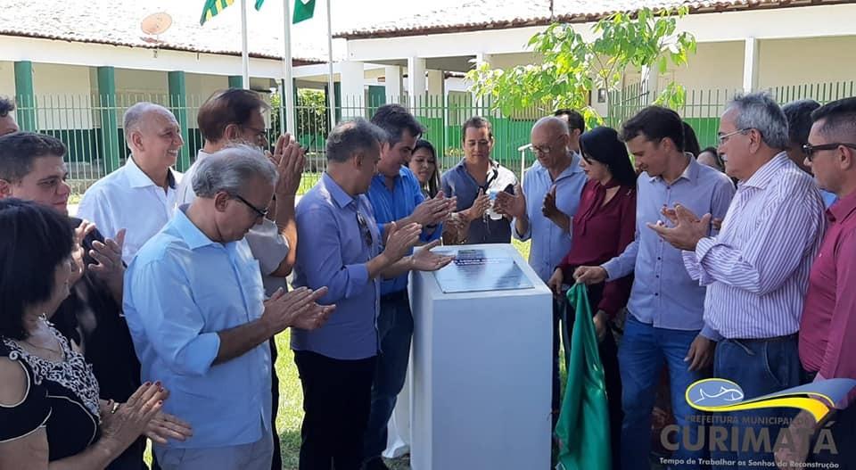 Aniversário de Curimatá é marcado por inauguração de obras
