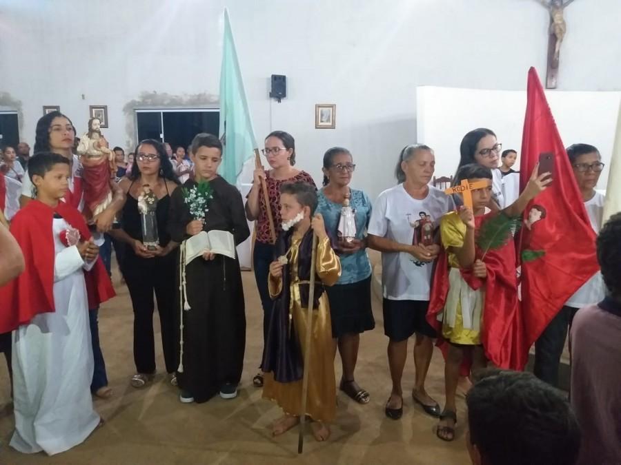 II ROMARIA PAROQUIAL: Encontro dos Santos e Comunidades da Paróquia de Sebastião Barros-PI