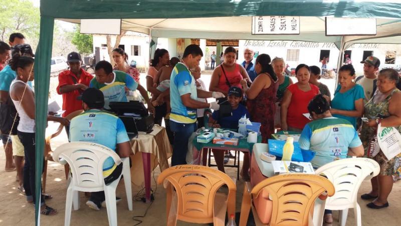 Santa Luz: 'Prefeitura Itinerante' atende moradores da localidade Pequi