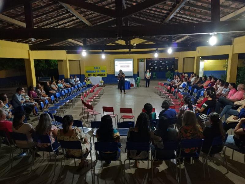 Educação de Alvorada do Gurguéia realiza Formação da BNCC