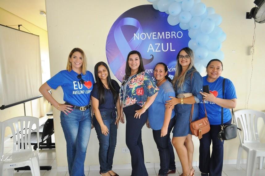 Secretaria de Saúde de Avelino Lopes promove o 'Novembro Azul'