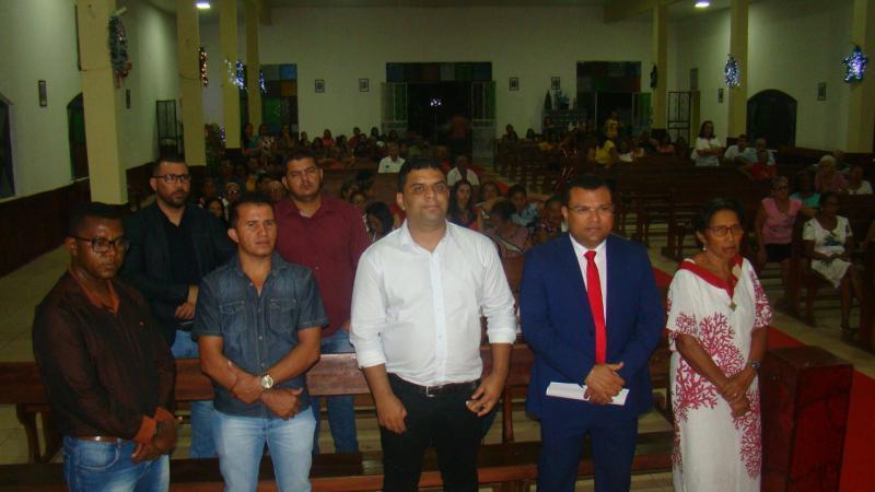 Dr. Macaxeira participa de celebração em comemoração ao aniversário de Redenção do Gurguéia