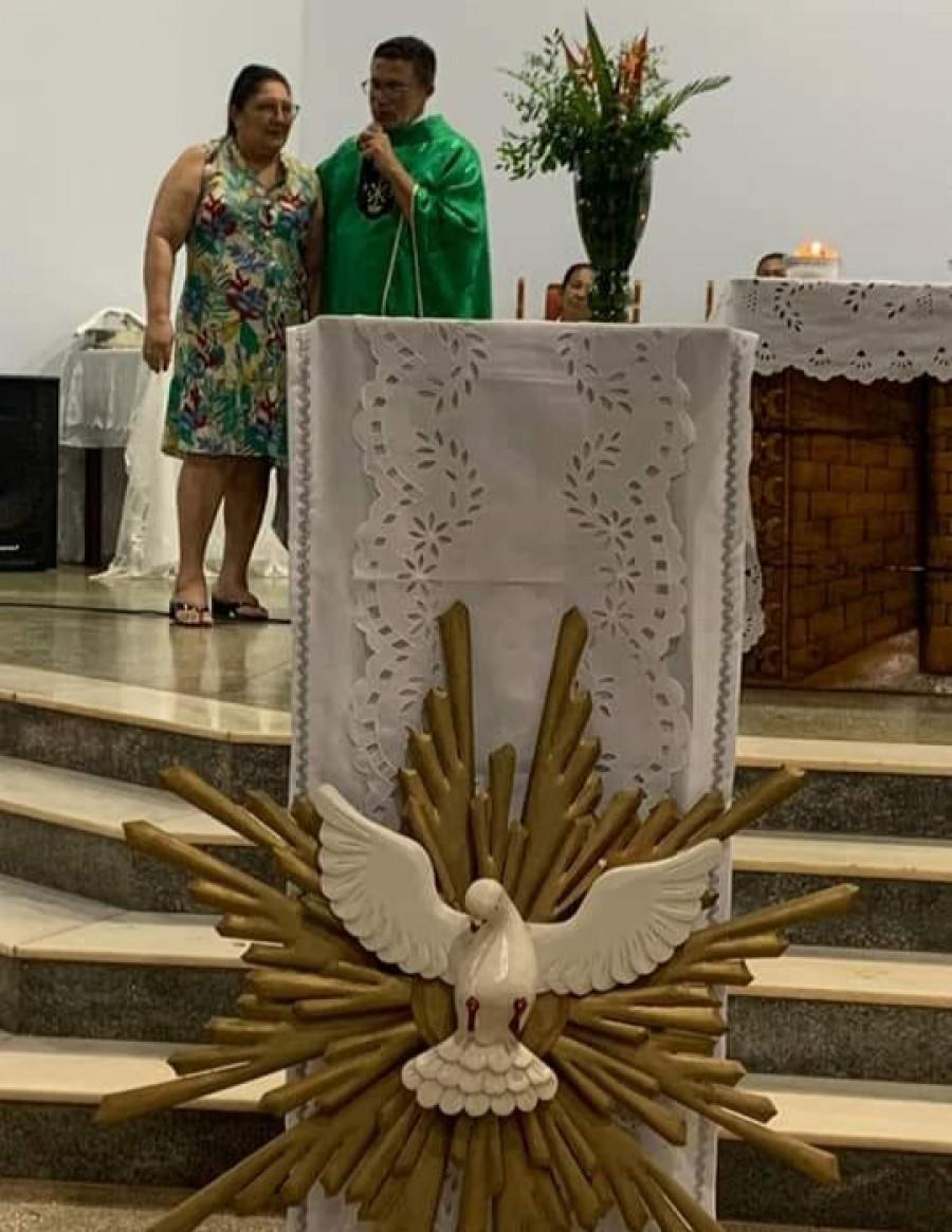 Após 5 anos, Pe. Anísio se despede da paróquia do Divino Espirito Santo