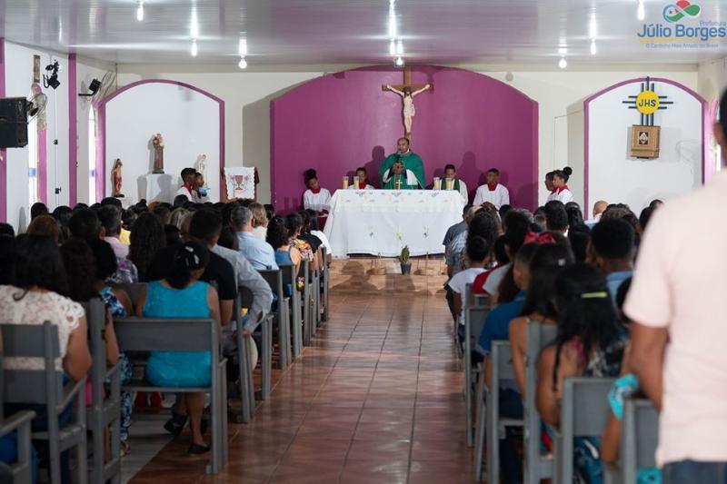 Missa no aniversário de Júlio Borges-PI