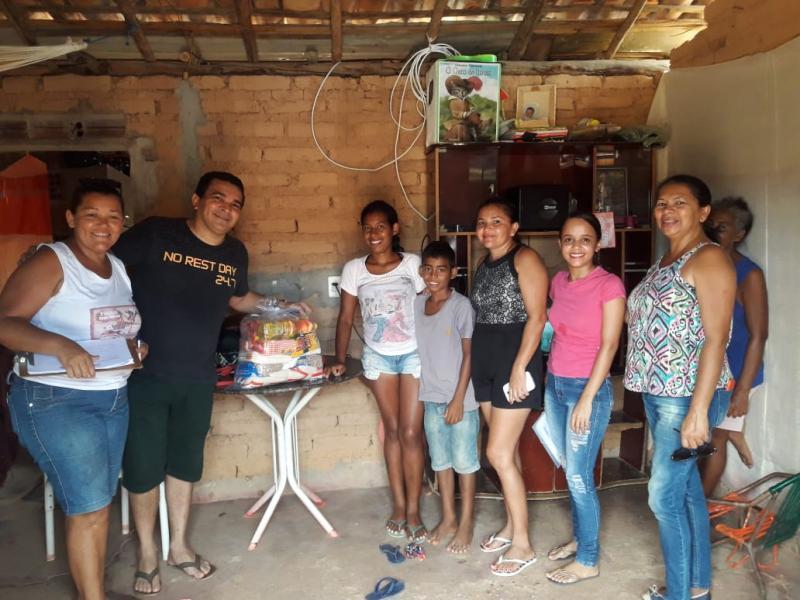 Prefeitura Redenção do Gurguéia realiza entrega cestas básicas