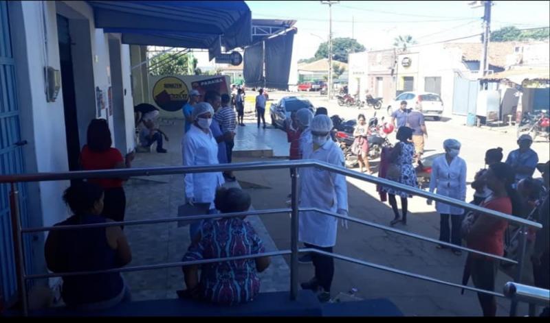 Coronavírus: Campanha orienta e monitora a população de Curimatá