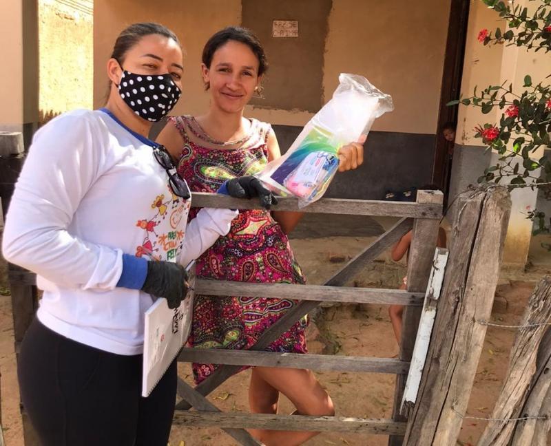 Avelino Lopes: Saiba como está atuado o Programa Criança Feliz na pandemia