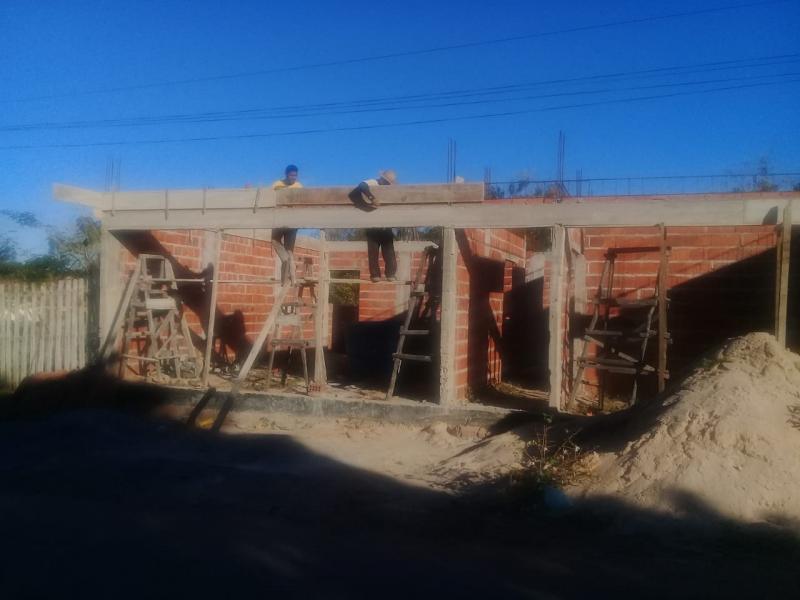 Construção da Casa Paroquial segue a 'todo vapor' em Barreiras