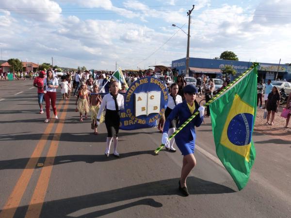 Desfile Cívico em MONTE ALEGRE mostra a pluralidade brasileira