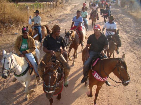 Redenção: Cavalgada marca o fim dos festejos de Nª Sra Aparecida no Barracão