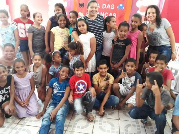 CRAS realizou dia das crianças em Parnaguá