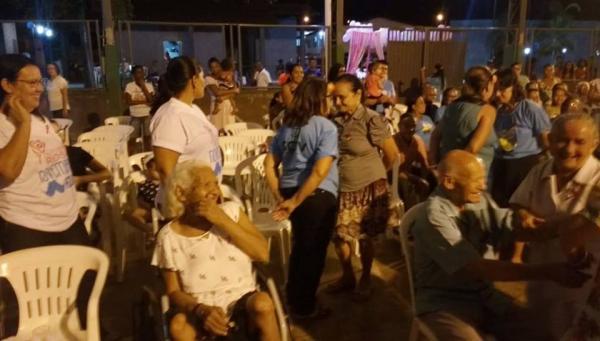 Assistência Social promove festa para os idosos de Cristalândia