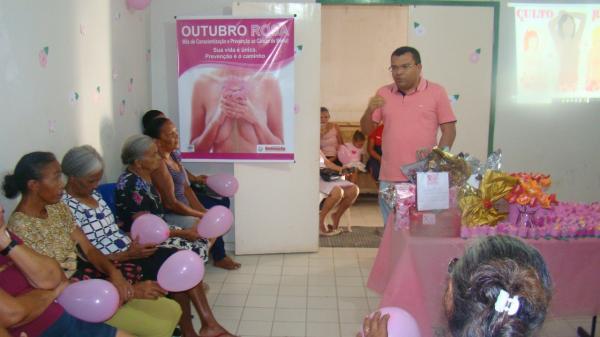 Saúde de Redenção realiza o 'MANHÃ MULHER'- Uma alusão ao Outubro Rosa