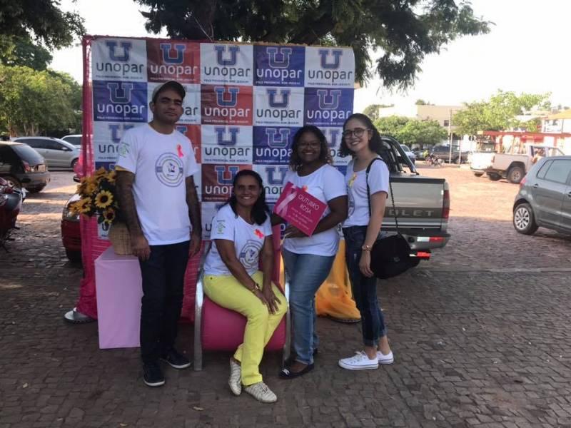 UNOPAR: Evento tratou sobre prevenção ao Suicídio e Câncer de Mama