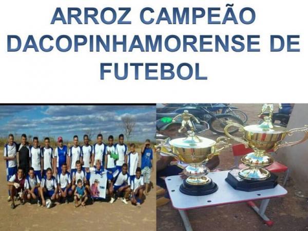 Arroz FC é Campeão da Copinha em Morro Cabeça No Tempo.