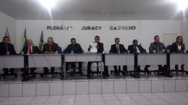 Câmara de Gilbués REPROVA contas do ex-prefeito Chiquinho
