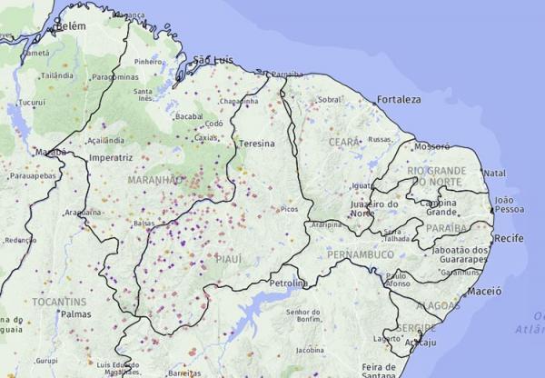 Piauí é o Estado com maior número de queimadas no Brasil, revela INPE