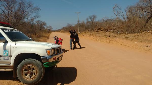 Polícia Militar realiza operação preventiva em estrada do Morro