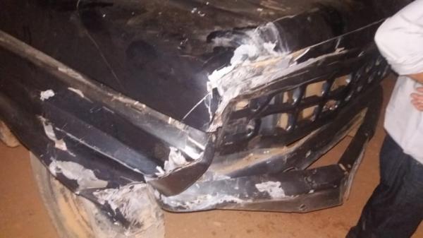 Acidente entre carro e moto deixa uma vítima fatal em Avelino Lopes.