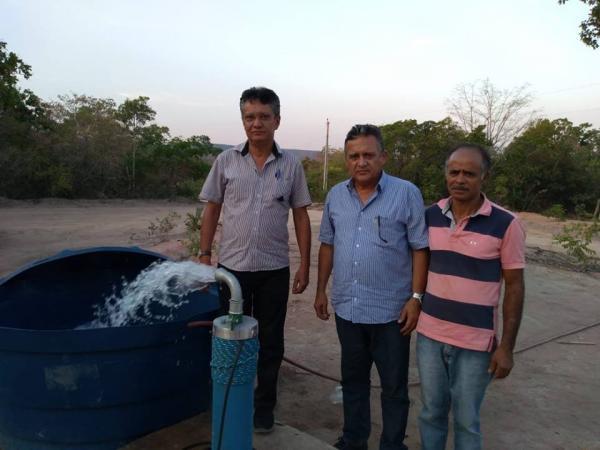 João da Cruz segue com obras de abastecimento de água