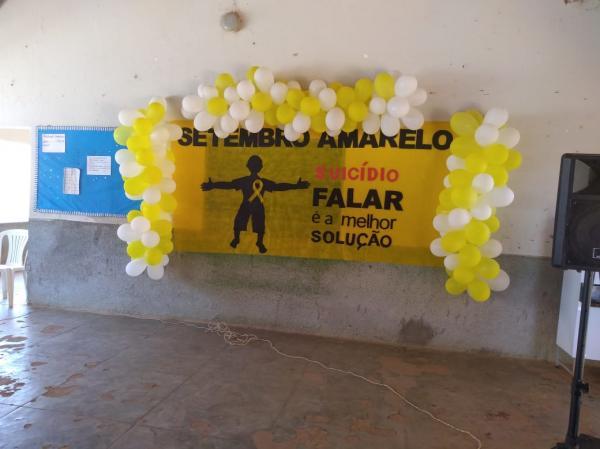 Setembro amarelo: Redenção do Gurgueia desenvolveu campanha.