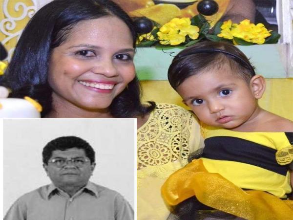 Mortos carbonizados em acidente na BR-316 eram pai, filha e neta