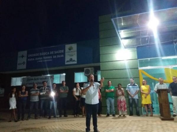 Prefeitura de Alvorada entrega UBS ao povoado Cascavel